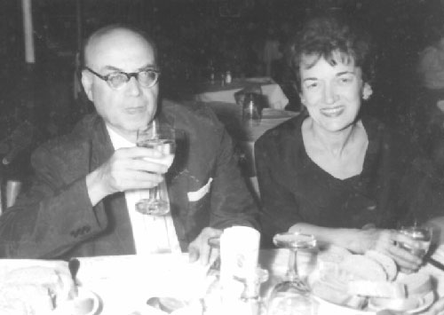 Rose and Louis Feit, August 5, 1963